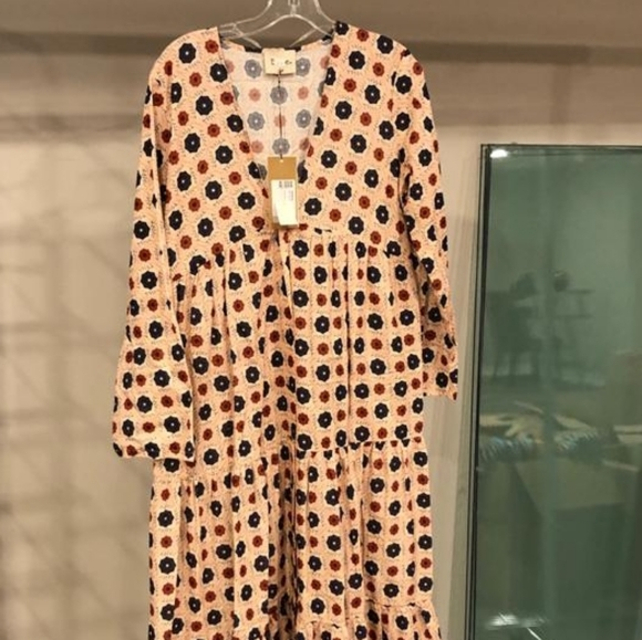 Dress size M new italy cotton 100%